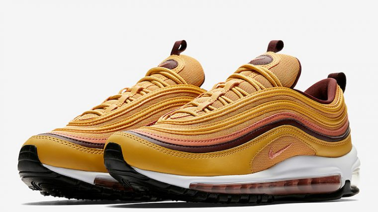 94f6a5bc5c10a Nike Air Max 97 Mustard | 921733-700 | The Sole Womens
