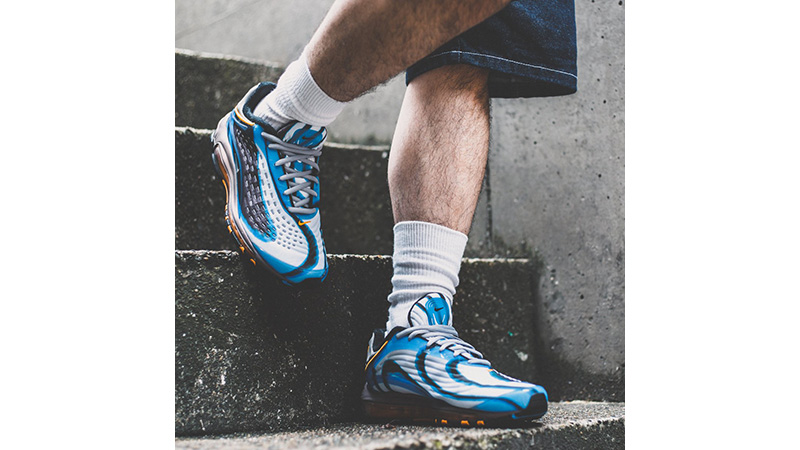 Nike Air Max Deluxe Blue Black 04