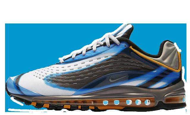 reputable site d5588 216f8 Nike Air Max Deluxe Blue Black   AJ7831-401