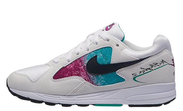 Nike Air Skylon 2 White Blue Womens AO4540-100