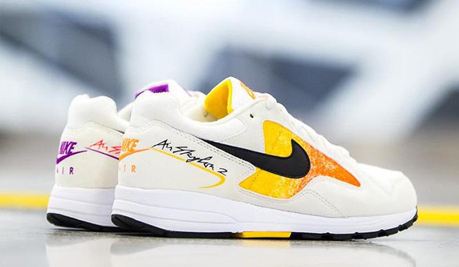 Nike Air Skylon 2 White Orange Womens
