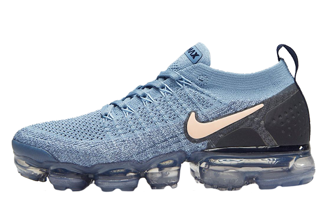 Nike Air VaporMax Flyknit 2 Blue Womens