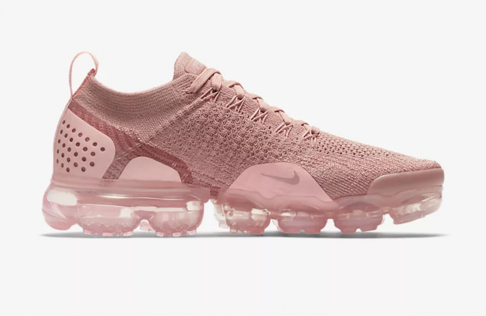 8d17759c31 Nike Air VaporMax Flyknit 2 Rust Pink Womens | 942843-600 | The Sole ...