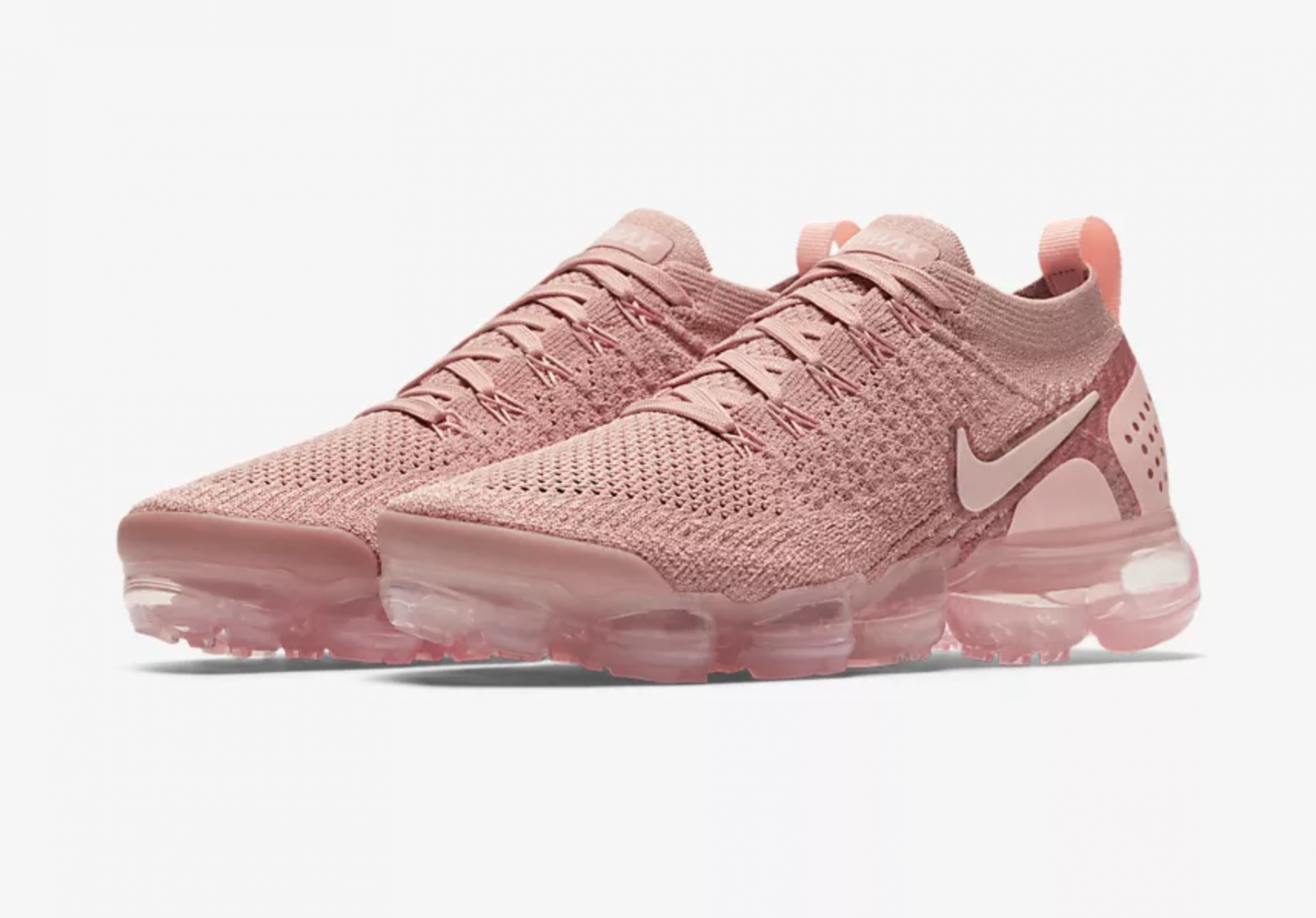 15565d87f7 Nike Air VaporMax Flyknit 2 Rust Pink Womens | 942843-600 | The Sole ...