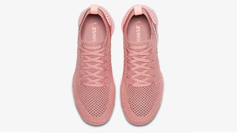 Nike Air Vapormax Flyknit 2 Rust Pink Mujeres El 942843 600 El Mujeres Único abf8b3