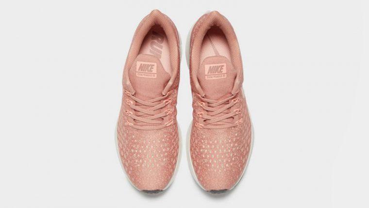 Nike Air Zoom Pegasus 35 Pink White Womens 02 thumbnail image