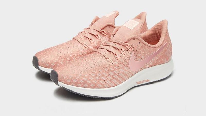 Nike Air Zoom Pegasus 35 Pink White Womens 03
