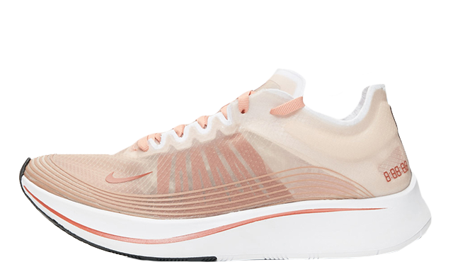 f7e53343f927 The Nike Zoom Fly SP Dusty Peach Womens is arriving very soon on July 5th.  Make sure to hit that bell icon above for release reminders on the run up  to the ...