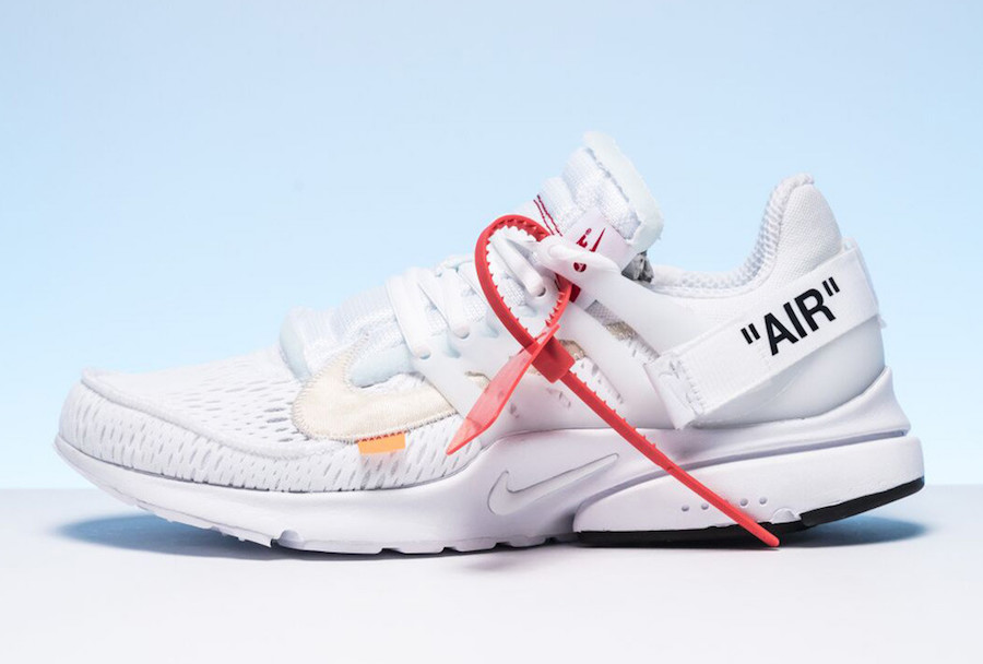 Raffle Guide For The Off-White x Nike Air Presto White | Upcoming ...