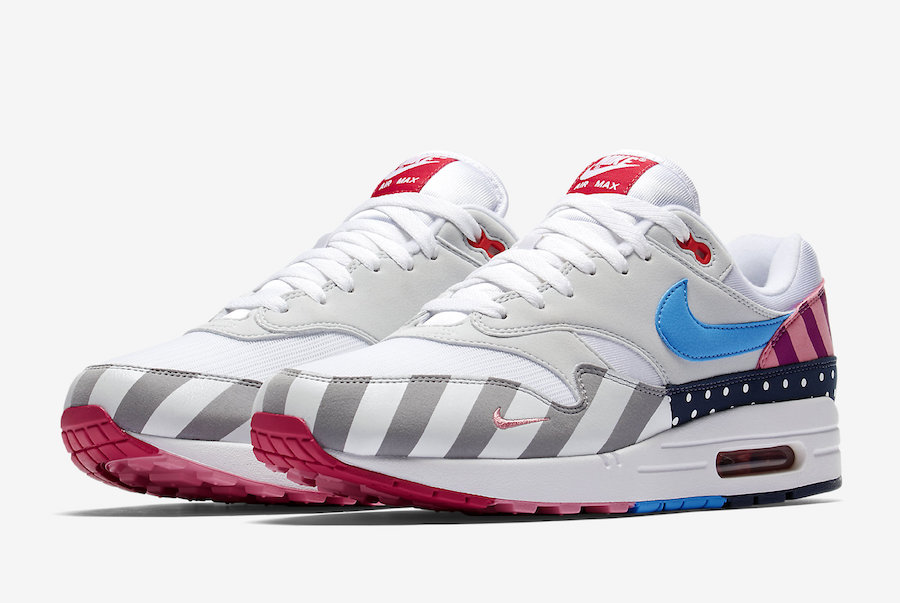 Parra x Nike Air Max 1 White Multi | AT3057-100