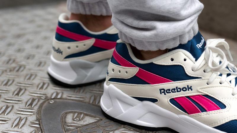 Reebok Aztrek Blue Pink  2ab257ad2