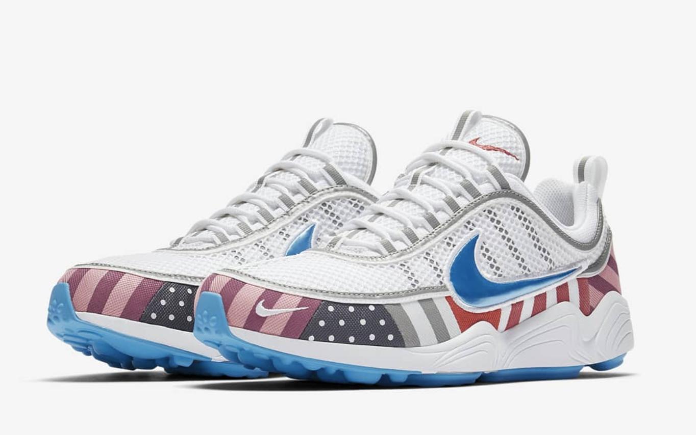 Parra x Nike Zoom Spiridon White Multi | AV4744-100