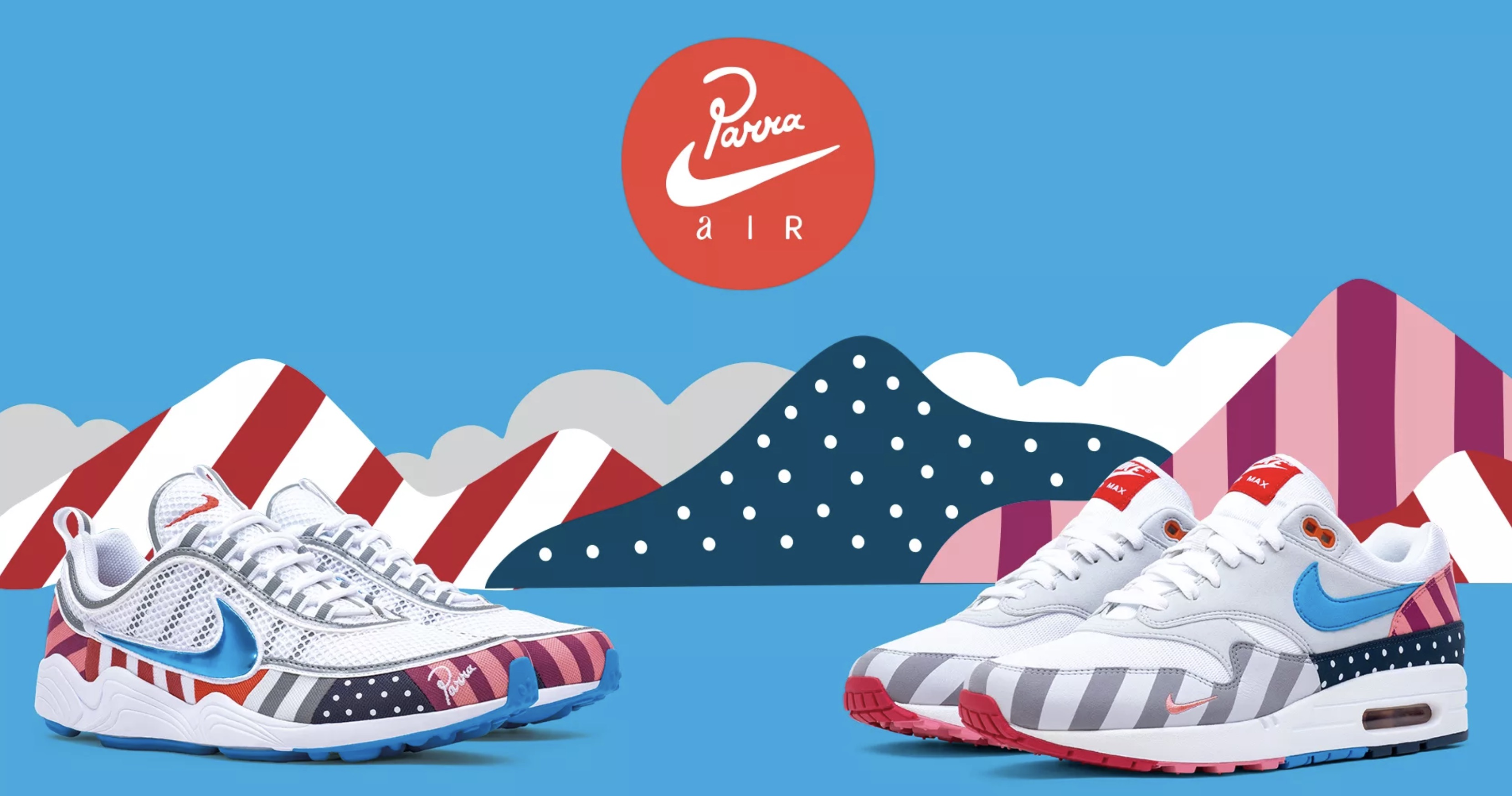 5c9ecf6813 Parra x Nike Air Max 1/Spiridon Raffle Guide | Upcoming Sneaker ...