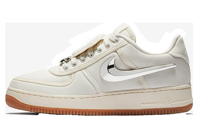Travis Scott x Nike Air Force 1 Low Sail | AQ4211-101