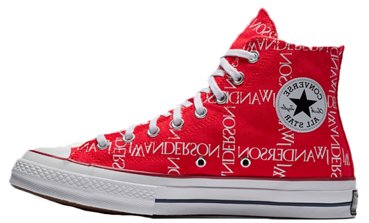 Converse x JW Anderson Chuck Taylor 70 Hi Red | 162290c