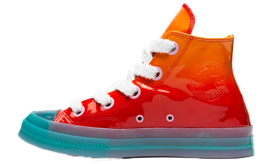 Converse x JW Anderson Patent Leather High Top Orange | 162286C
