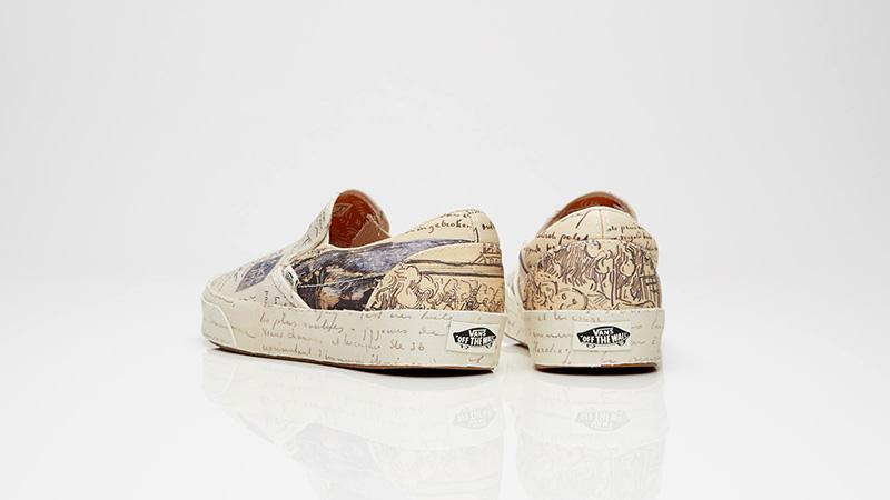 543795f1183 ... Vans Classic Slip-On Vincent van Gogh Turtledove