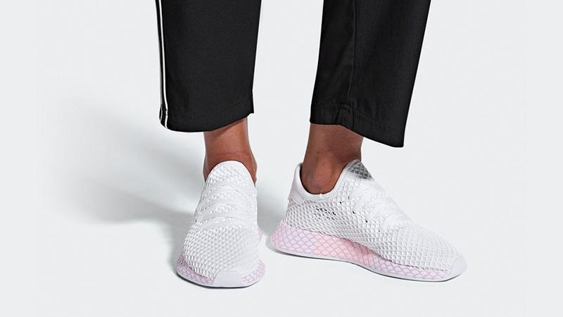 adidas deerupt women white
