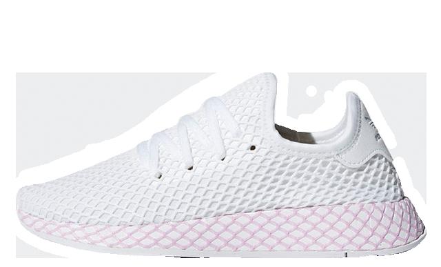 adidas deerupt pink and blue