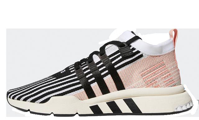 adidas EQT Support Mid ADV Black Pink AQ1048