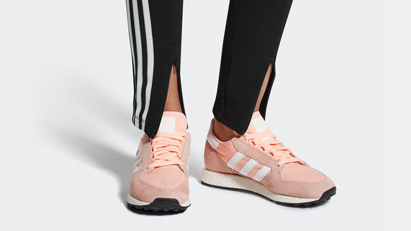 adidas Forest Grove Pink Womens | B37990