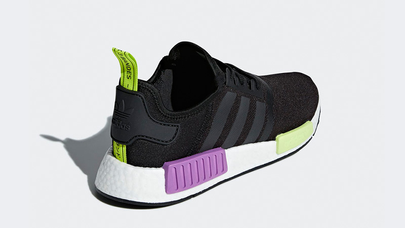 adidas NMD R1 Black Purple Shot | D96627