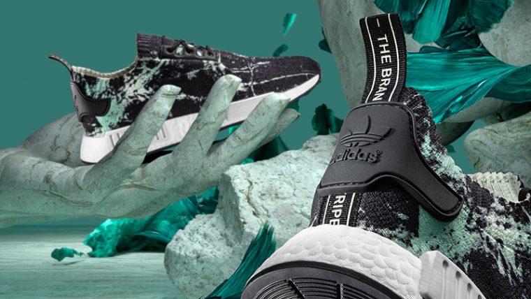 9e9a02695 adidas NMD R1 Marble Primeknit Black
