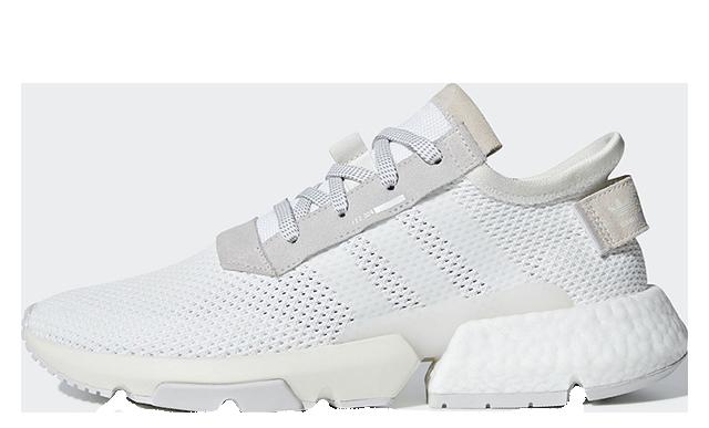 adidas P.O.D System White Grey B28089