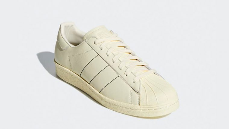 adidas SST 80s Trace Cream Womens B38000 03 thumbnail image