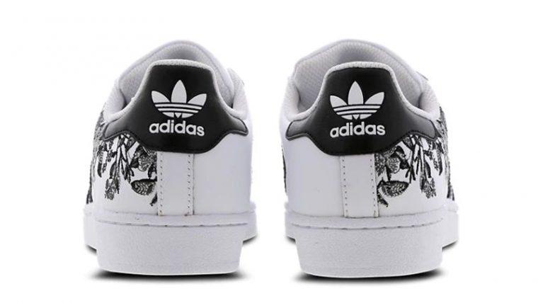 adidas Superstar Flower Embroidery White Women Footlocker Exclusive 01 thumbnail image
