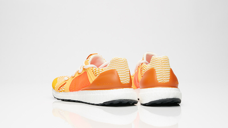 ad584338f0efb adidas x Stella McCartney Ultra Boost Gold Orange AC8339 01