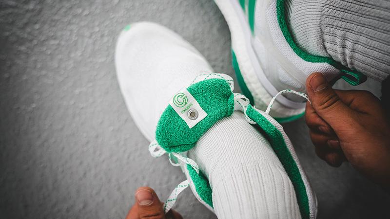 official photos 9d235 e7ea1 Concepts x adidas Consortium Energy Boost Shiatsu White Green  BC0236