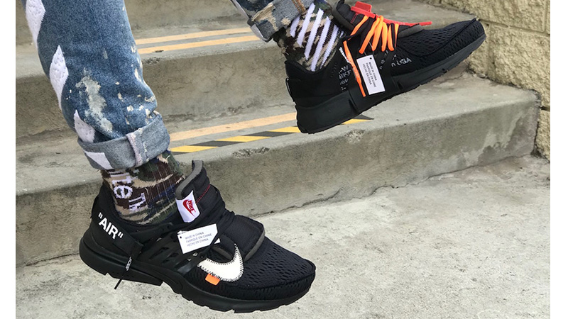 timeless design e4ce8 371ef Off-White x Nike Air Presto Black   AA3830-002