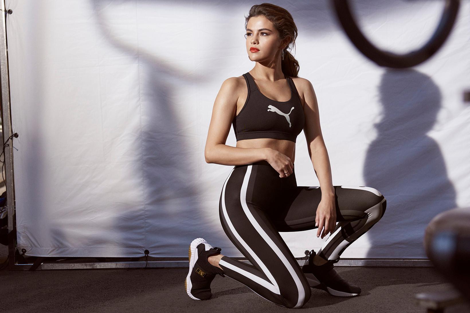 6aacd79e0f2d8d Selena Gomez Models PUMA s Upcoming DEFY Mid Sneaker