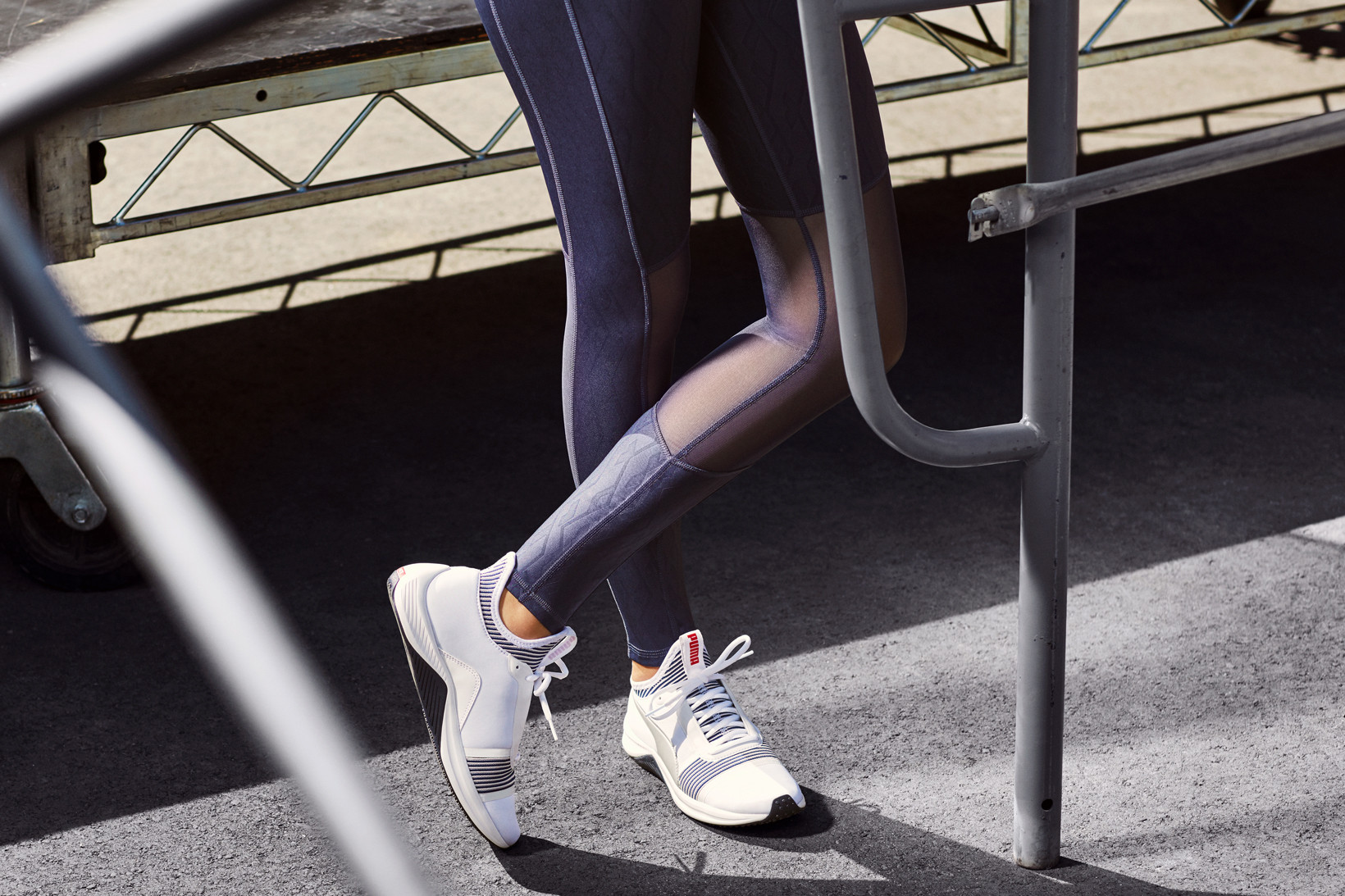 acbf6eeaf71 Watch Selena Gomez Strike A Pose In PUMA s Amp XT Sneaker