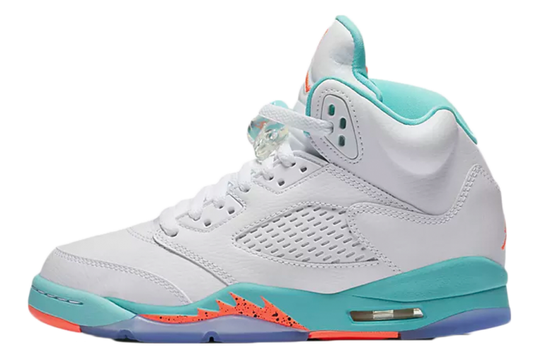 Jordan 5 GG White Aqua | 440892-100