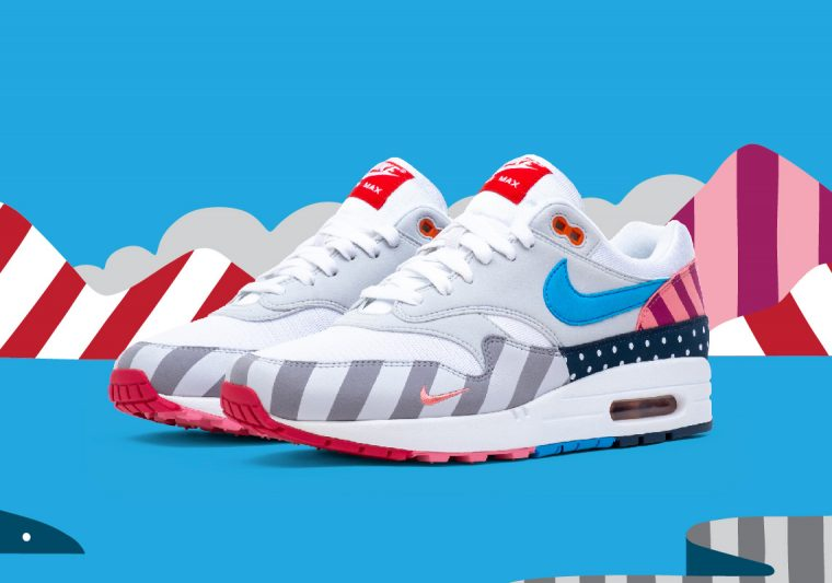 Parra x Nike Air Max 1 White Multi | AT3057-100 thumbnail image