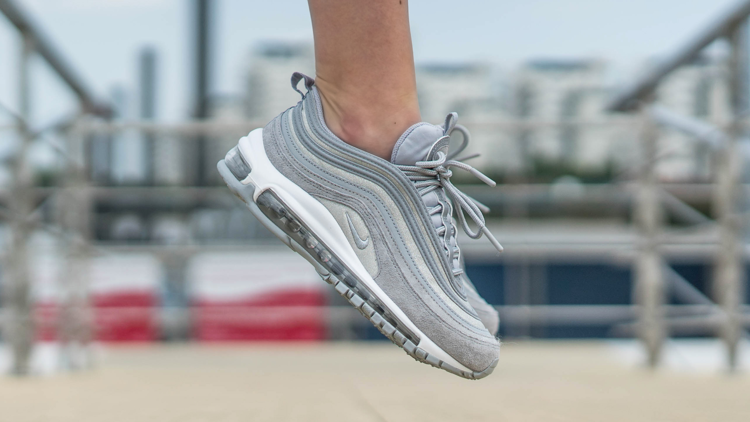71b12c9e17 An Exclusive On Foot Look At Nike's Air Max 97
