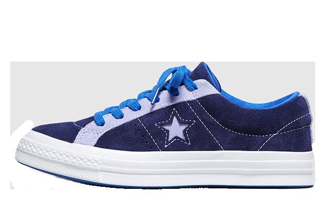 Converse One Star Blue Womens 161615C