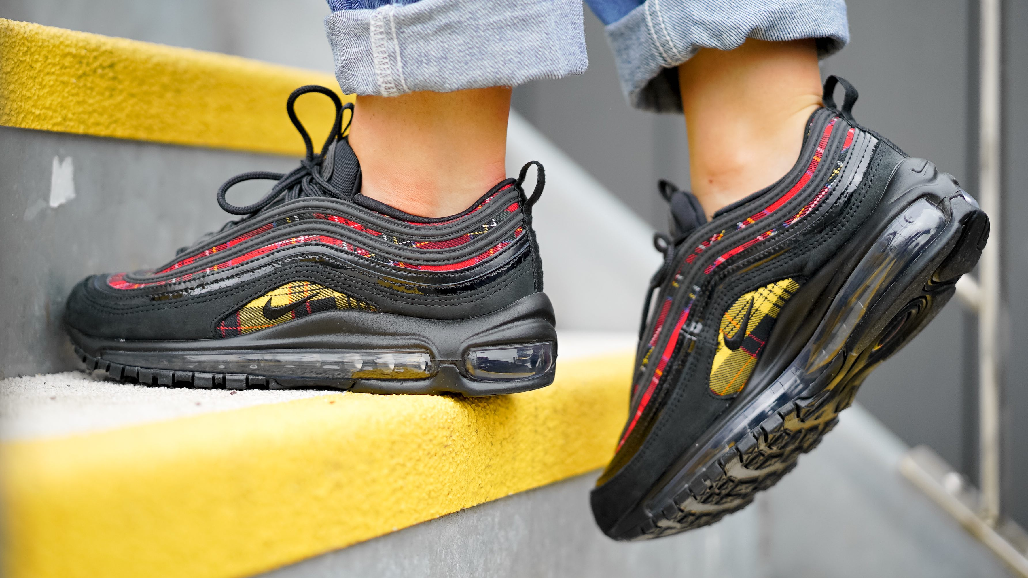 50bc6b640de2ae An Exclusive On Foot Look At Nike s Air Max 97