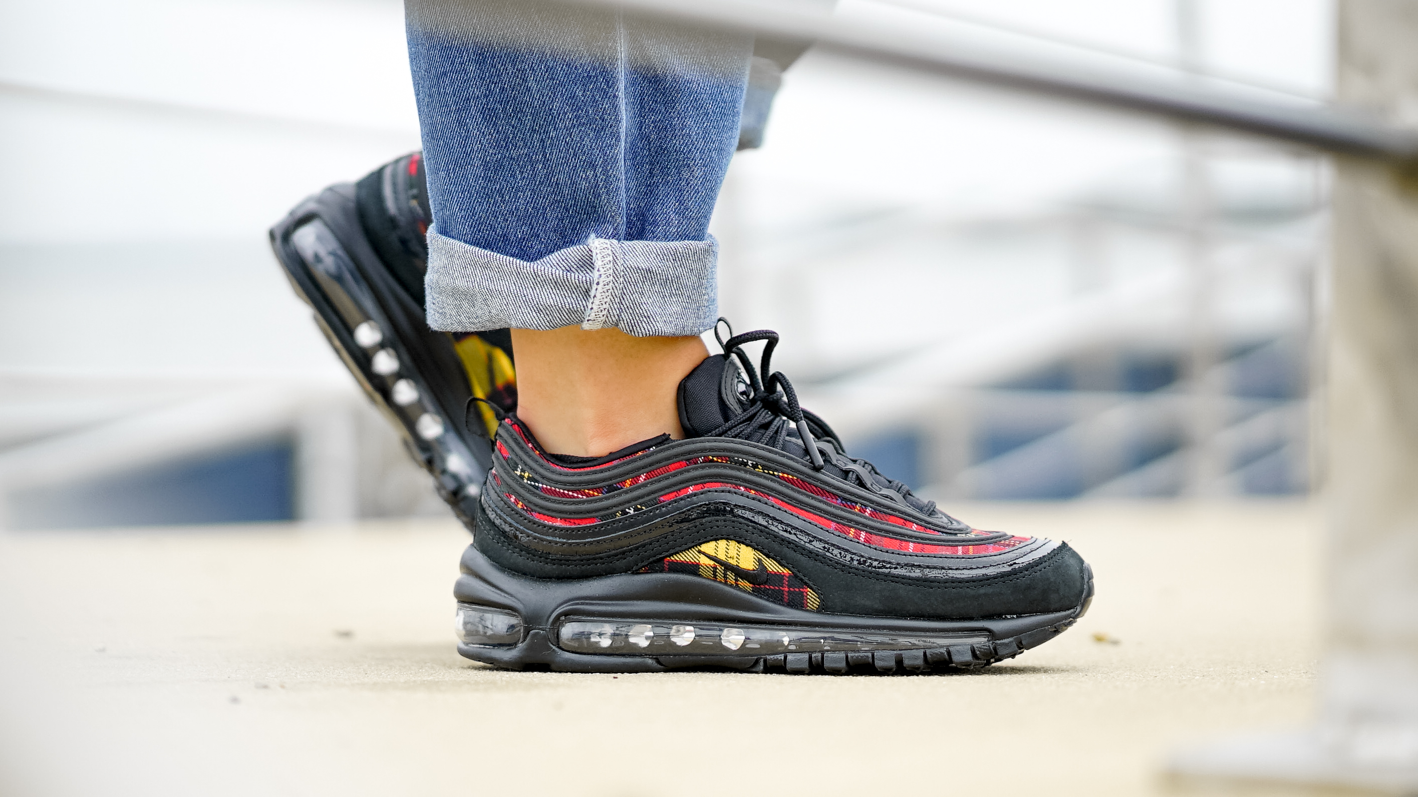 separation shoes 1f0be 76de1 An Exclusive On Foot Look At Nike s Air Max 97