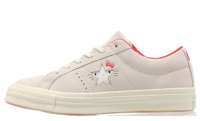Hello Kitty x Converse Chuck Taylor One Star Grey