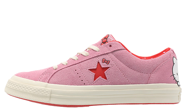 Hello Kitty x Converse One Star Pink