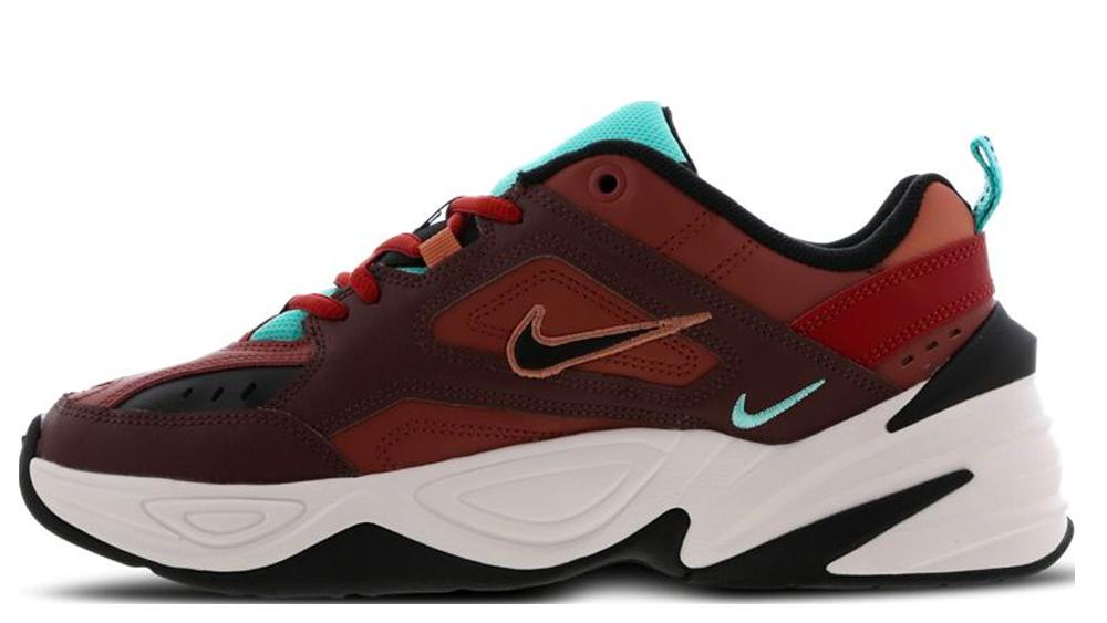 Nike M2K Tekno Mahogany Mink Burnt Orange