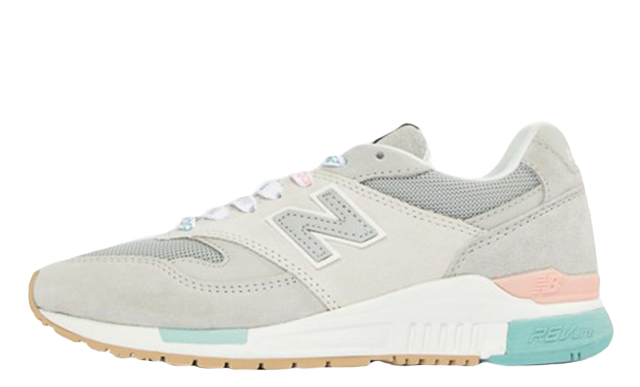 coupon codes outlet for sale the sale of shoes New Balance Grey 840 Logo Laces Grey