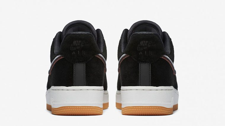 Nike Air Force 1 07 LX Black Gum 898889-010 thumbnail image