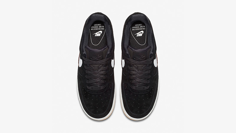 Nike Air Force 1 07 LX Black Gum 898889-010