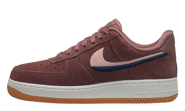 Nike Air Force 1 07 Lux Red Beige 898889-203