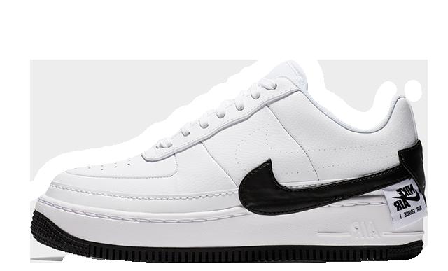 Nike Air Force 1 Jester XX White Black Womens AO1220-102