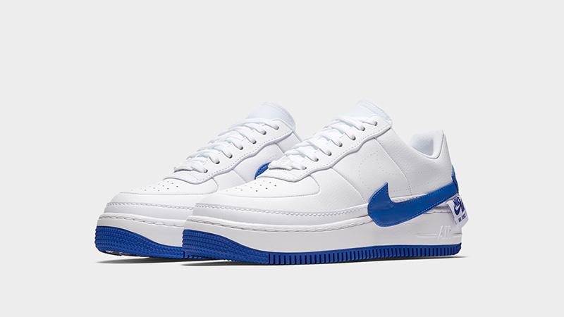 Nike Air Force 1 Jester XX White Blue Womens | AO1220-104